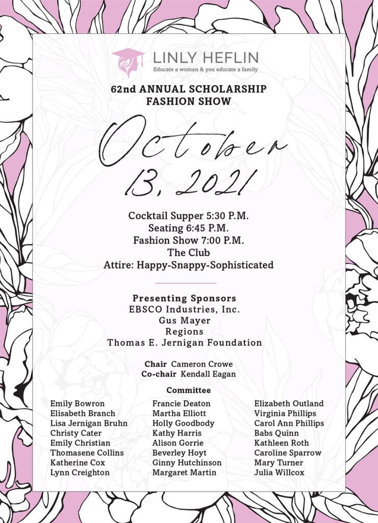 62 Annual Fashion Show